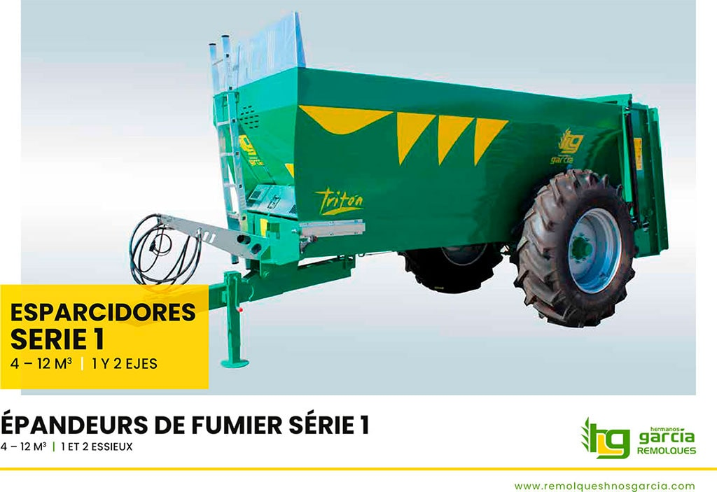 Manure spreaders Serie 1 (Spanish - French)