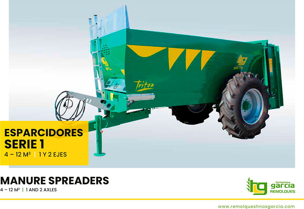 Manure spreaders Serie 1 (Spanish - English)