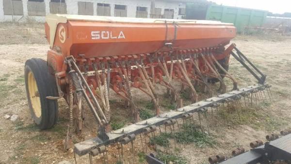 Sembradora suspendida SOLA 3.45 metros