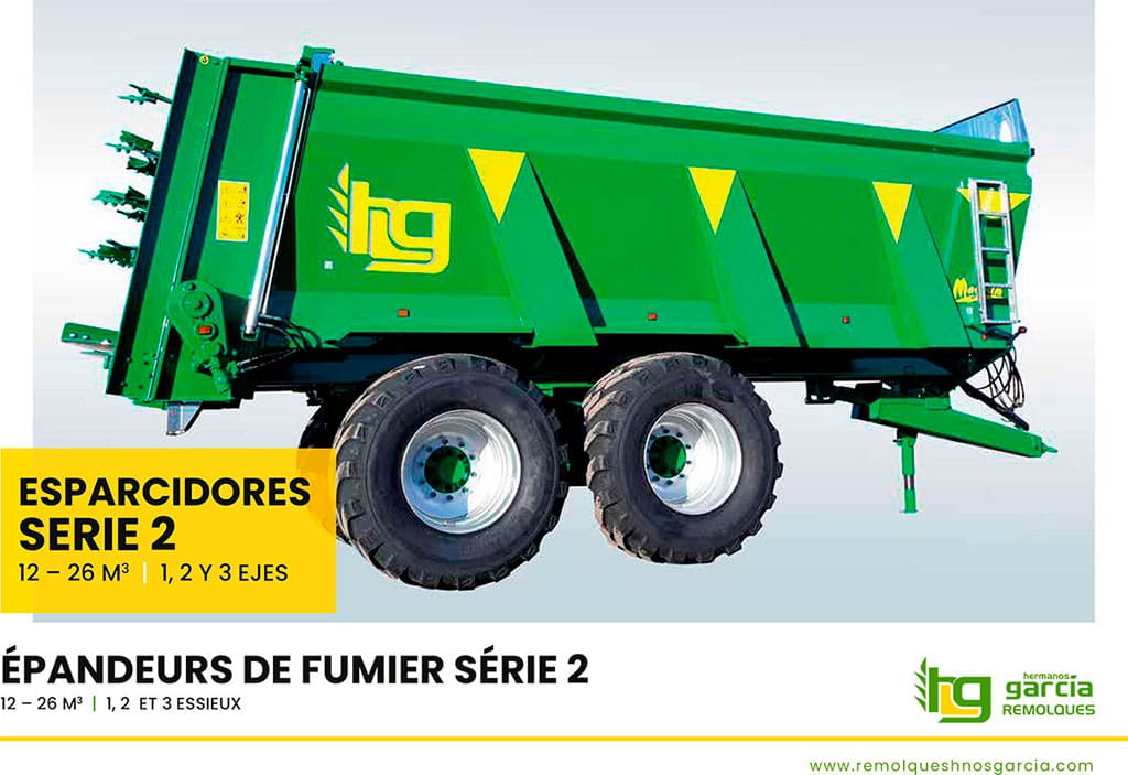 Manure spreaders Serie 2 (Spanish - French)