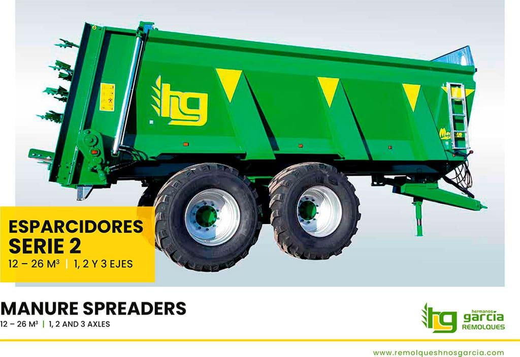 Manure spreaders Serie 2 (Spanish - English