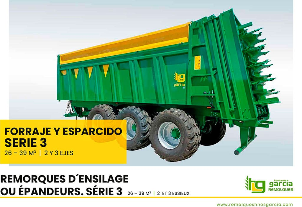 Manure spreaders Serie 3 (Spanish - French)