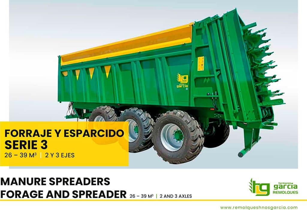 Manure spreaders Serie 3 (Spanish - English)